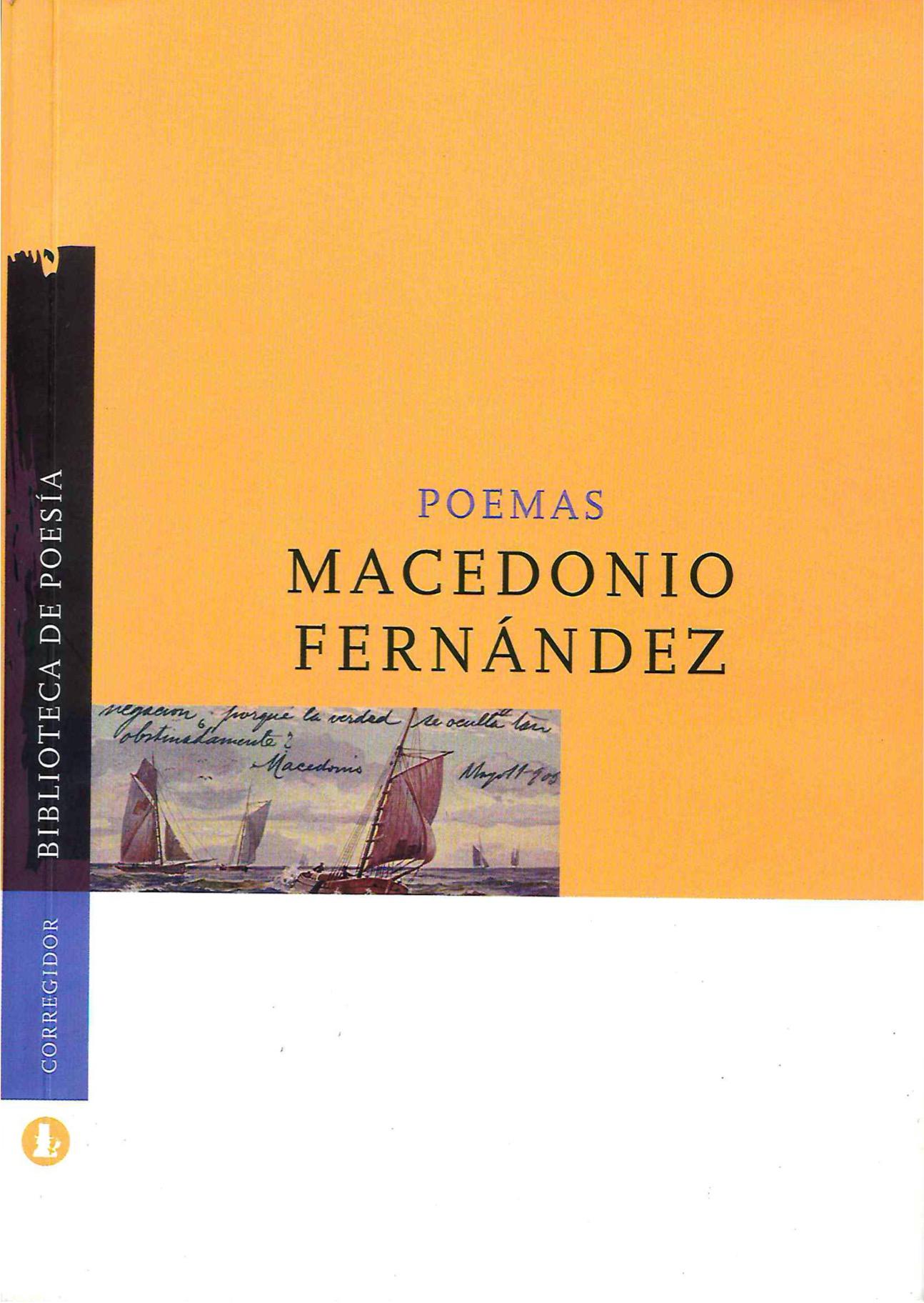 Poemas - Macedonio Fernandez pdf