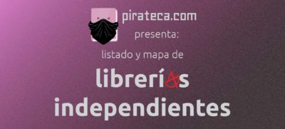 librerías independientes Pirateca