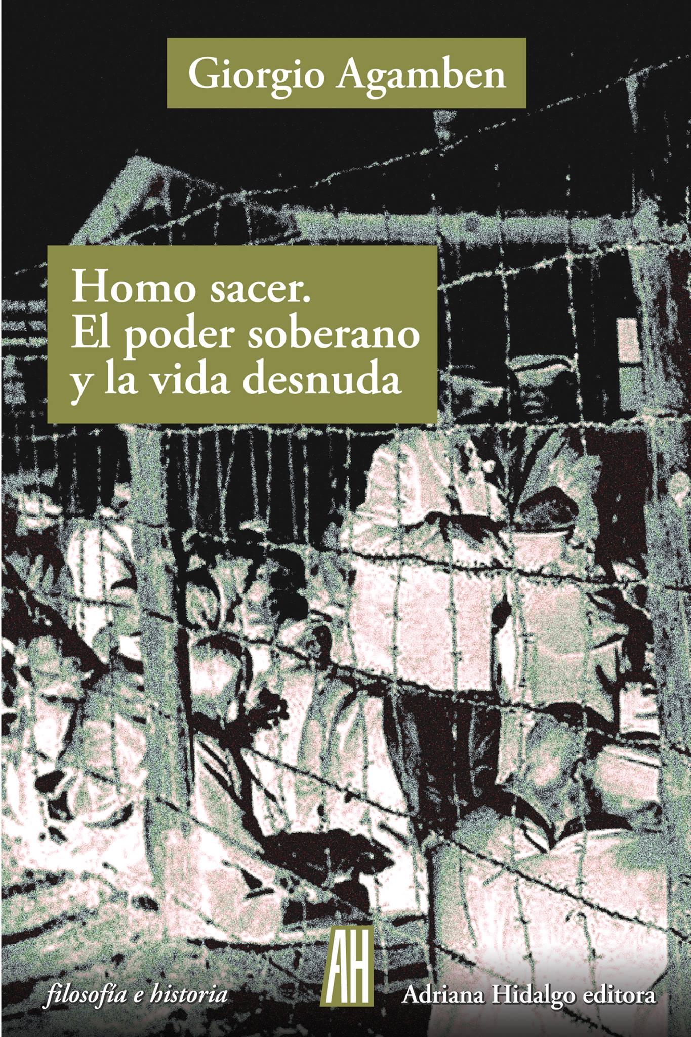 Homo sacer. El poder soberano y la vida desnuda - Giorgio Agamben pdf