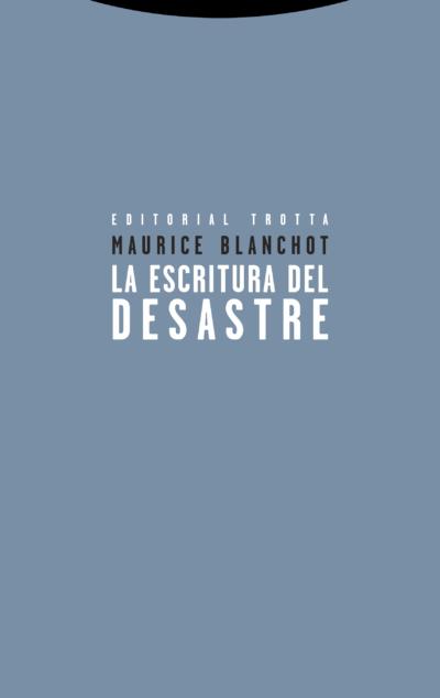 Maurice Blanchot - La escritura del desastre pdf